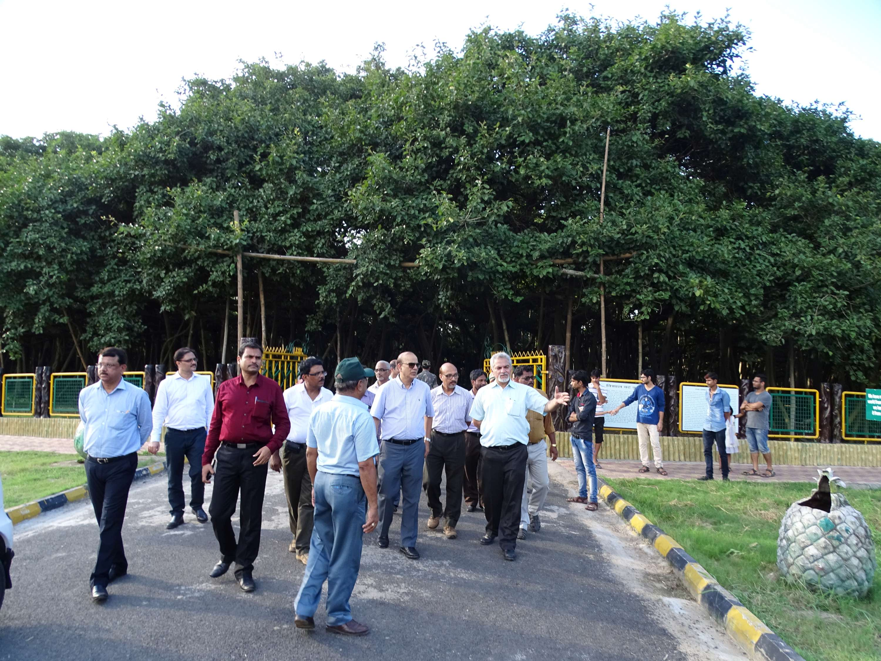 Visit of  Secretary, MOEF & CC