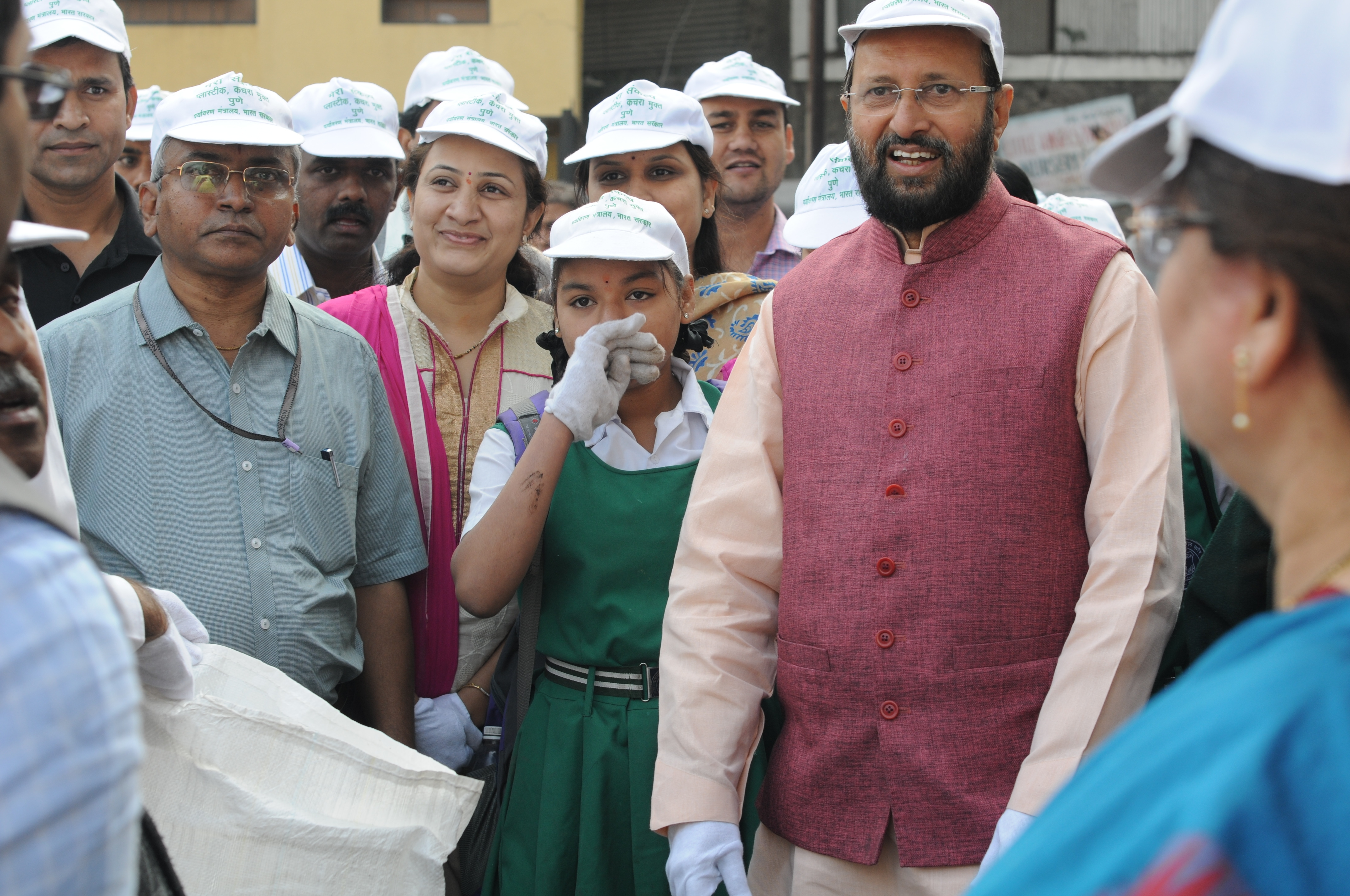 Plastic Waste-free Pune programme on 13.02.2016